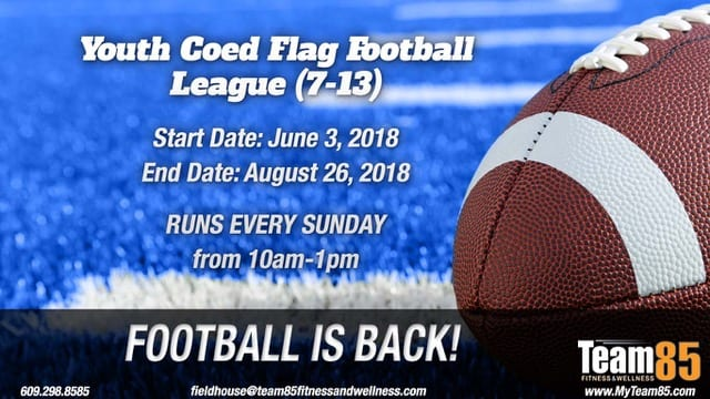 Team85 Youth Flag Football NJ